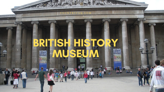 British History Museum Collection Tourist Guide