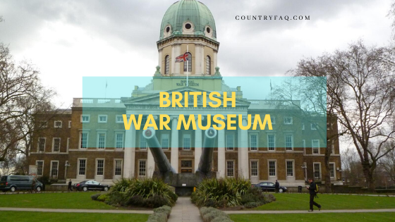 British War Museum Stands with a Glorious Past