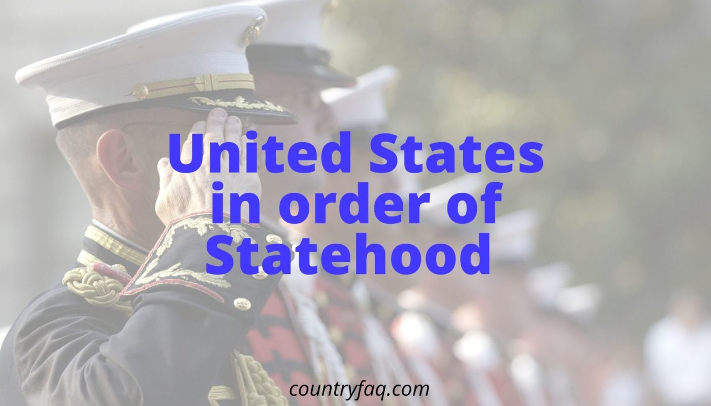 united states in order of statehood