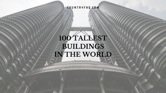 100 Tallest Completed Buildings in the World