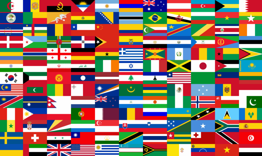 List of Countries and Their Flags – All Flags of the World