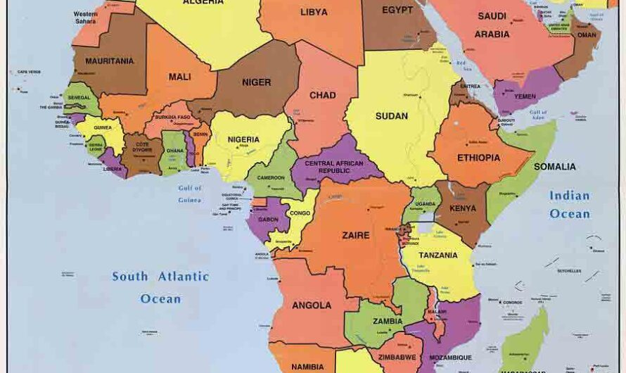 List of Capital Cities in Africa and Their Countries