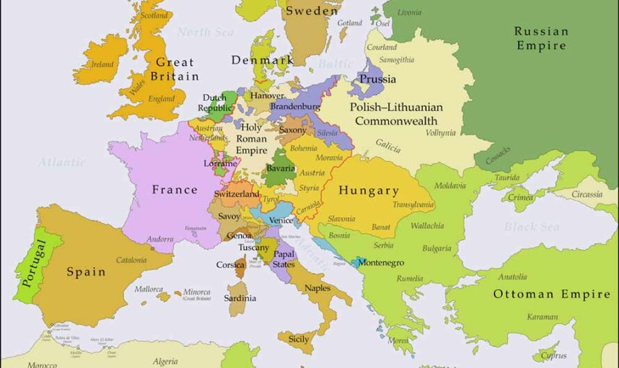 Capital Cities in Europe and Their Countries – Complete List