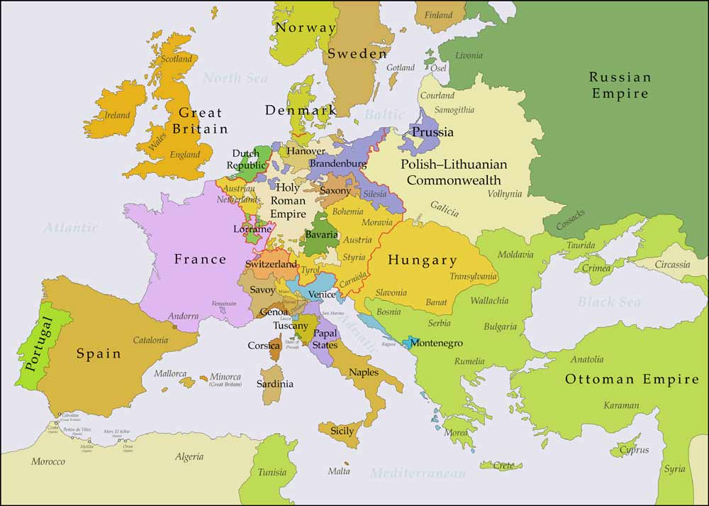 Capital cities in Europe