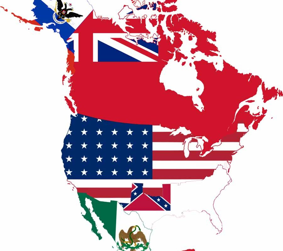 Countries in North America and Their Capitals