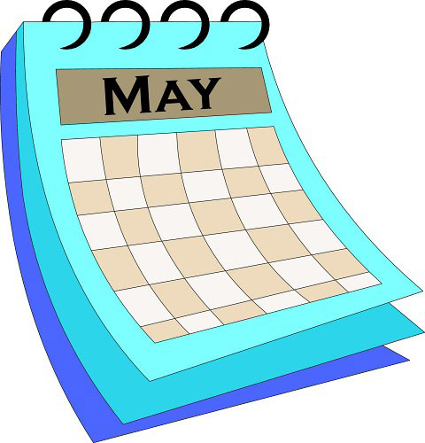 National Days in May – May Overview Calendar