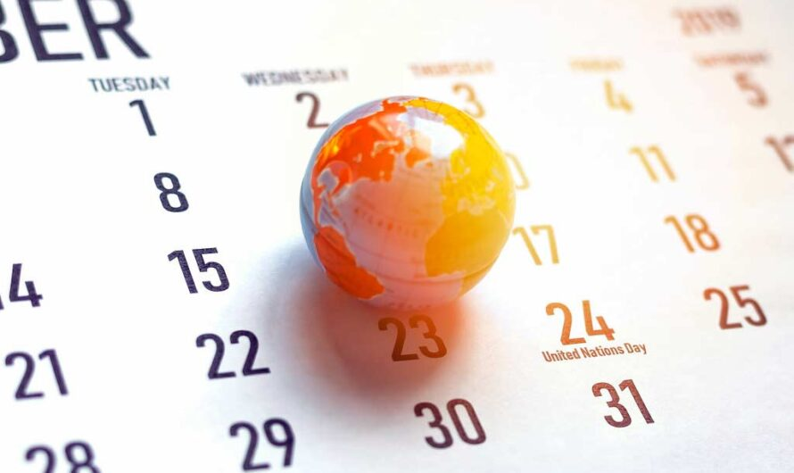 National Days in October – Overview Calendar