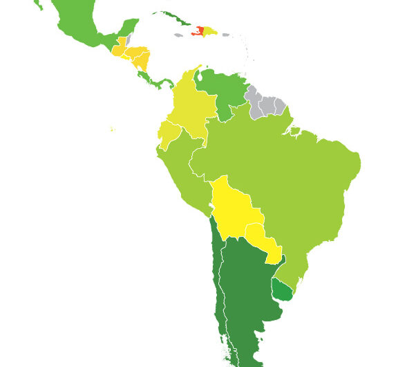 Flags of Latin American Countries – Capitals | Population | Economy
